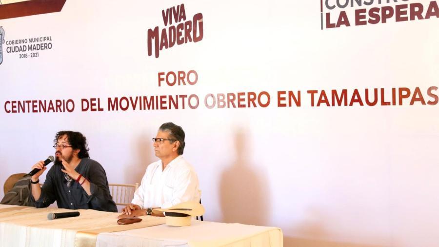 En Ciudad Madero realizan foro del Movimiento Obrero en Tamaulipas