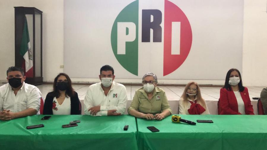 Presenta el PRI a pre-candidatos para elecciones del 06 de junio