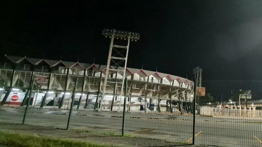 Parque López Mateos clausurado por ordenamiento judicial