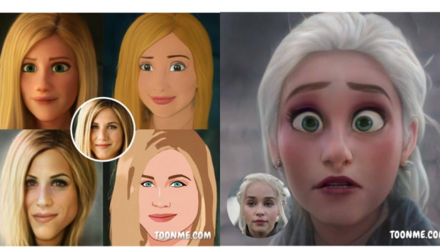 'ToonMe' la app que te vuelve un personaje de Disney