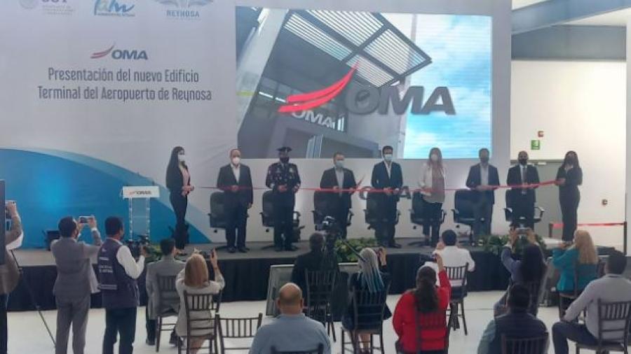Inauguran nuevo edificio terminal del Aeropuerto Internacional de Reynosa