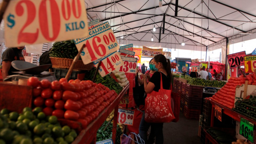Inflación anual llega a 5.59% durante el mes de agosto: INEGI