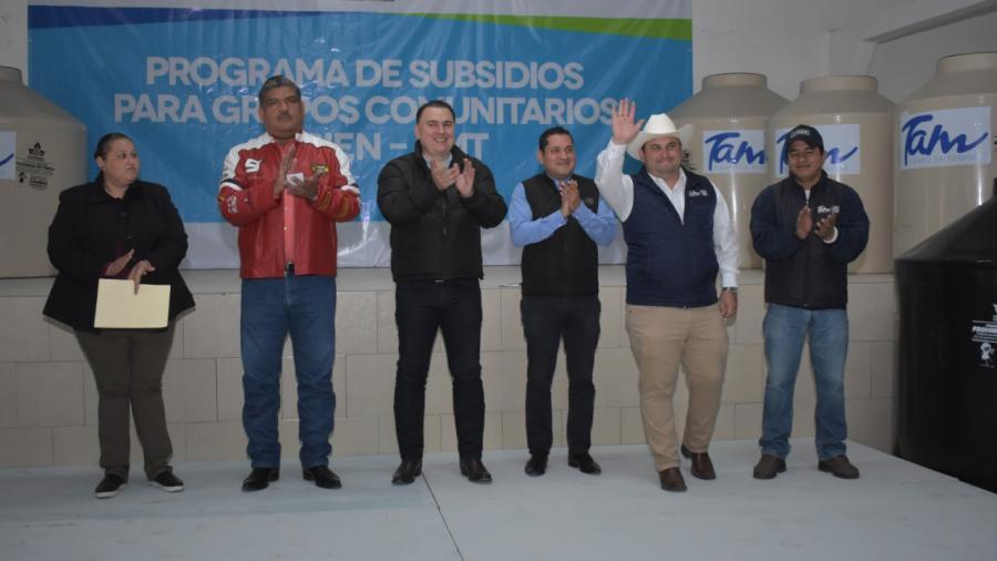 """Ejido Conquista Campesina se beneficia del """"Programa de Subsidios para Grupos Comunitarios"""""""