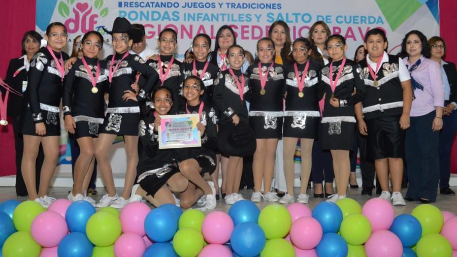 Exitoso Certamen Regional de Rondas Infantiles y Salto de Cuerda
