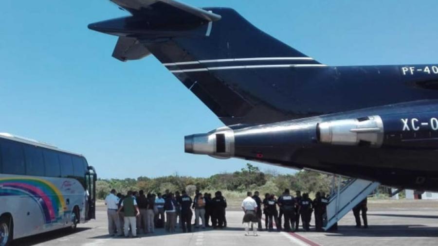 Repatrian a hondureños vía aérea
