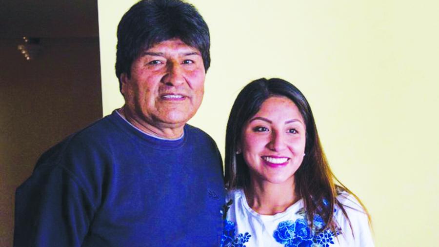 Hija de Evo Morales retira su solicitud de asilo en México