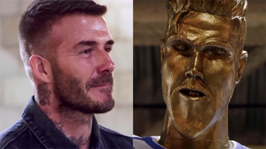 Realizan broma a Beckham