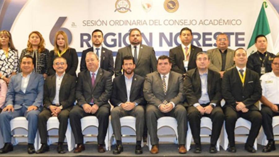 Participa FGJET en la Sexta Sesión Ordinaria del Consejo Académico de la Región Noreste