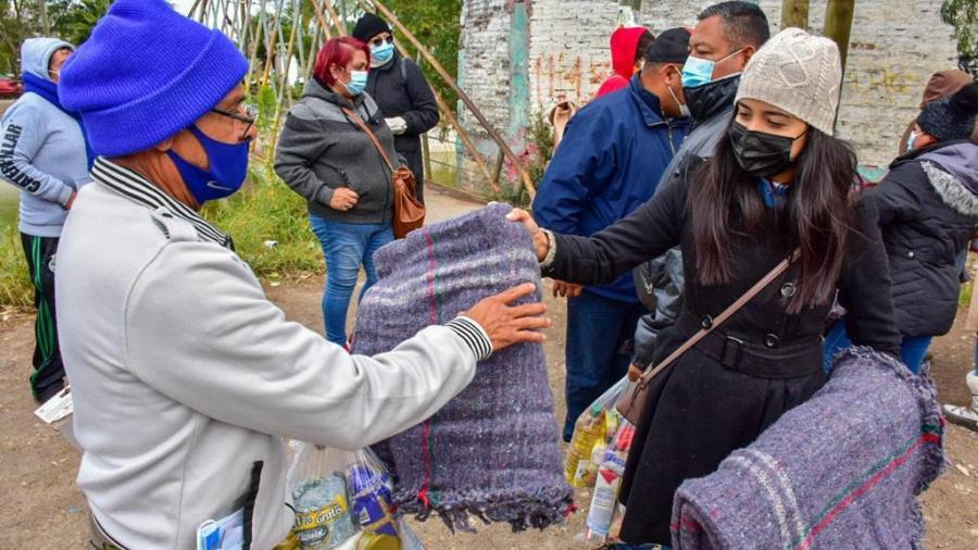 """""""DIF Reynosa en Tu Casa"""" benefició a las familias de las Colonias Bugambilias, Hidalgo y Morelos"""