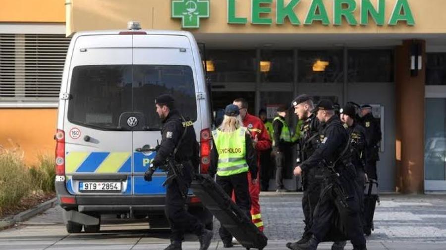 Hombre mata a seis personas en hospital de República Checa y luego se quita la vida