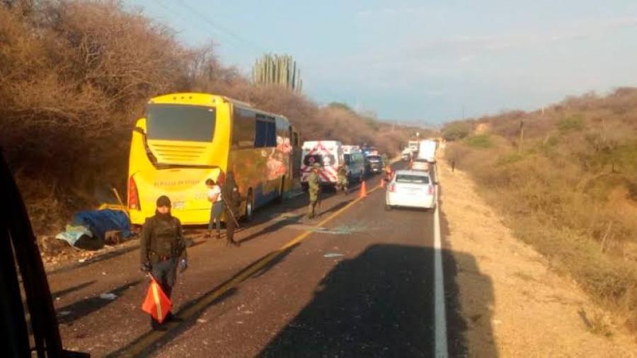 Deja nueve muertos accidente carretero en Puebla