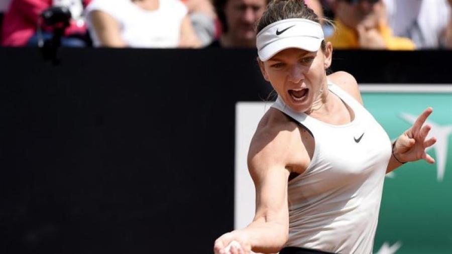 Simona Halep arrolla a Naomi Osaka en Master de Roma