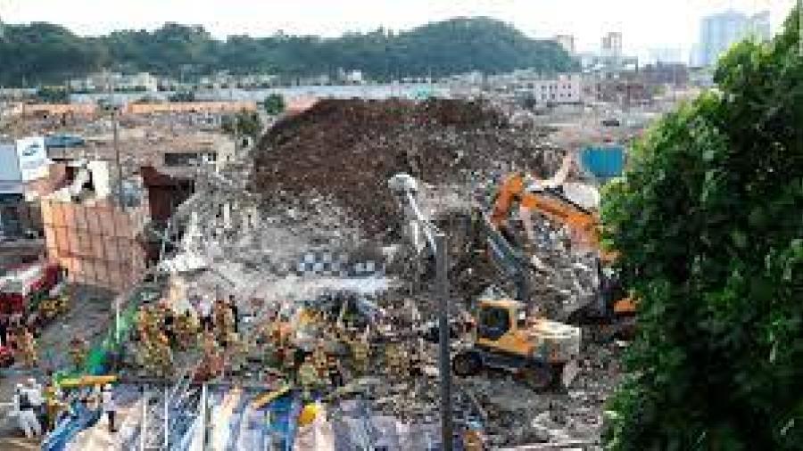 Al menos 9 muertos por colapso de edificio en Corea del Sur