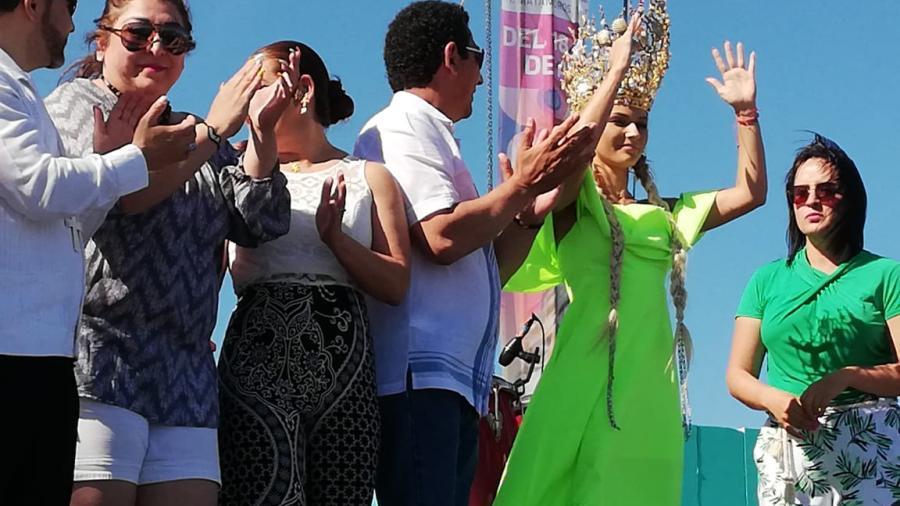 Irina Baeva es coronada Reina del Mar 2019