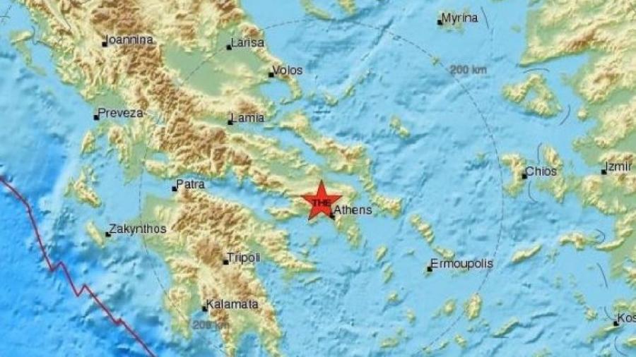 Se registra sismo de 5.1 en Grecia
