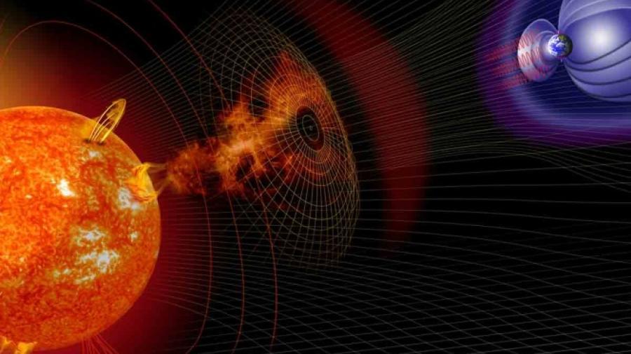 Tormenta solar impactará a la tierra este miércoles y jueves