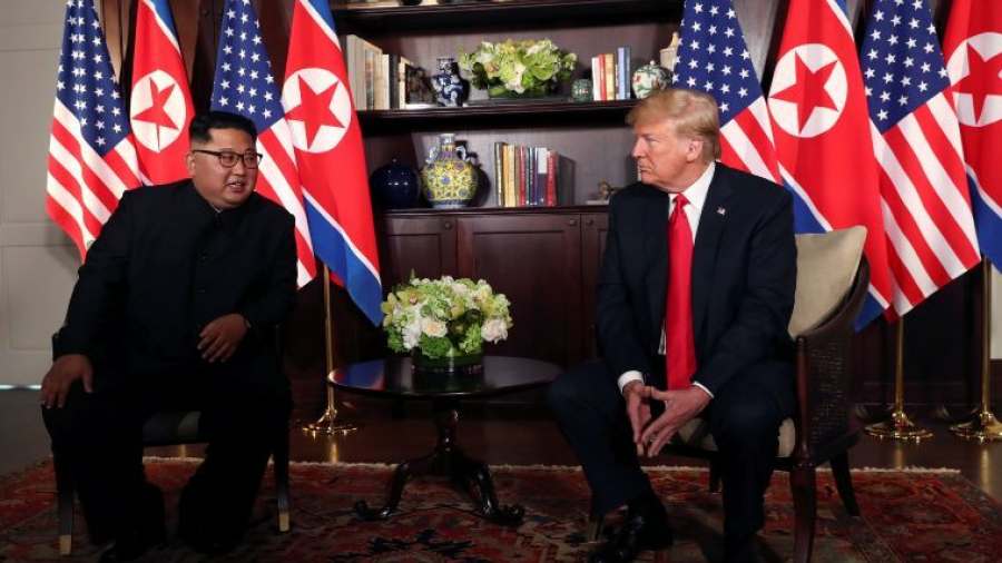 Asegura Trump que desnuclearización de Corea del Norte será inmediata