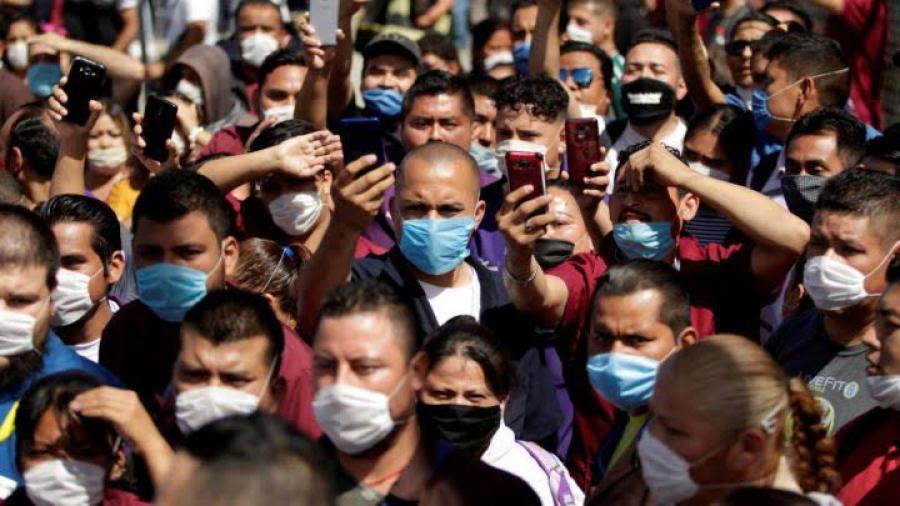 Suma México 3 millones 573 mil 044 casos de COVID-19