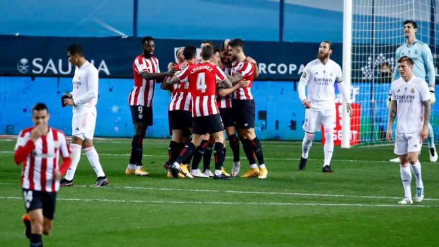 Athletic de Bilbao elimina al Madrid y avanza a la final