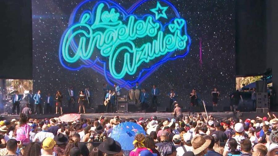 Los Ángeles Azules pusieron sabor a Coachella