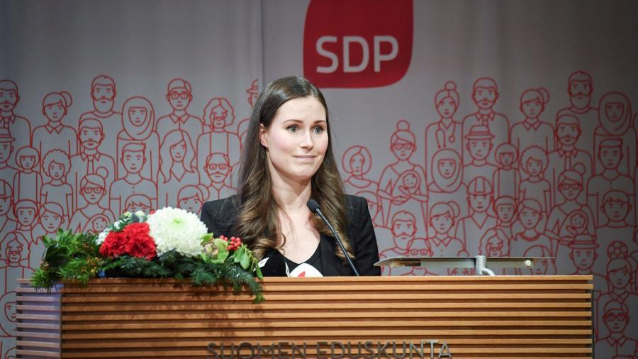 Sanna Marin la primera ministra más joven de Finlandia