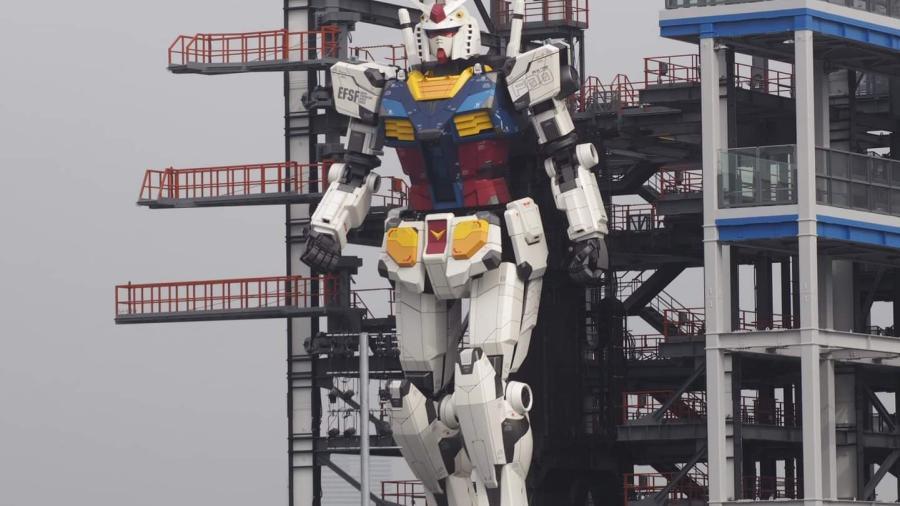Japón inicia pruebas del robot Gundam que camina solo
