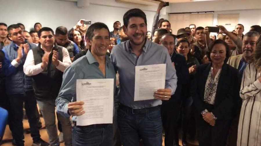 Se registra Escobar como aspirante a la diputación por Matamoros
