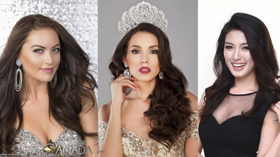 Estas son las candidatas de Miss Universo 2017