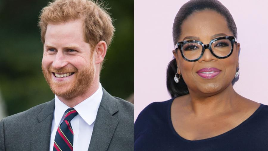 Oprah Winfrey y el Príncipe Harry preparan serie para Apple TV