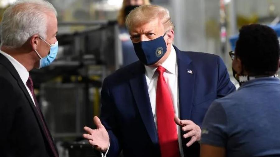 Asegura Trump que vacuna contra COVID-19 podría llegar para las elecciones