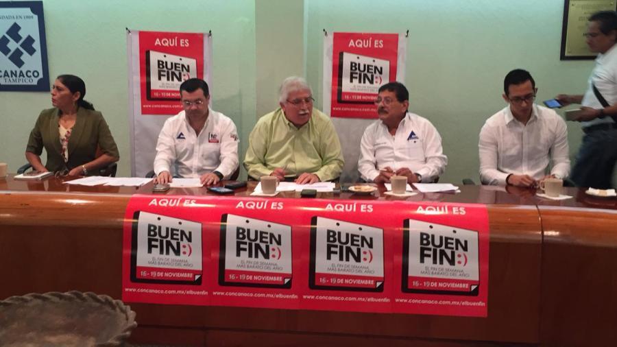 Esperan en Buen Fin ventas de mil millones de pesos en sur de Tamaulipas