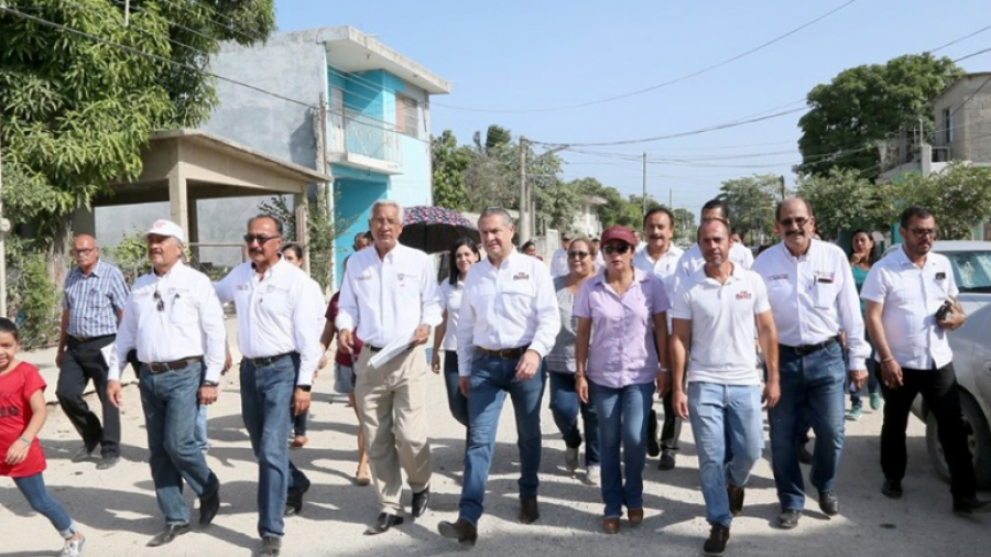 Realiza alcalde recorrido por supervisión de trabajos