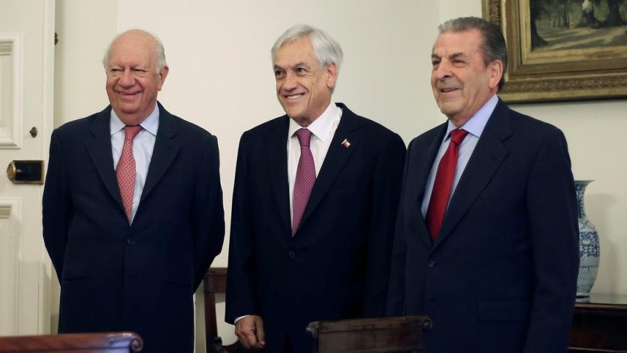 Presidente de Chile se reúne con exmandatarios ante fallo de La Haya