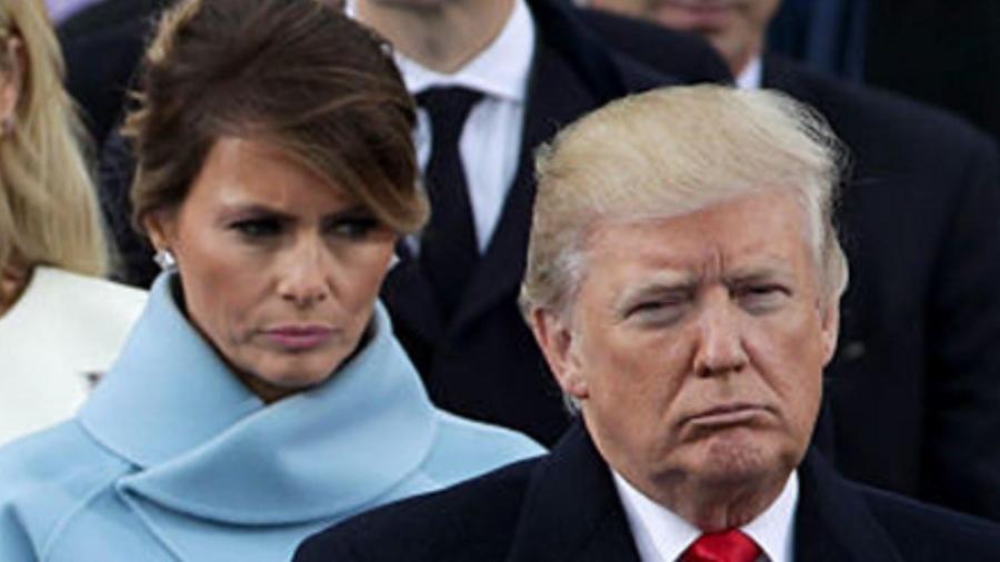 Melania y Donald Trump viven separados en la Casa Blanca