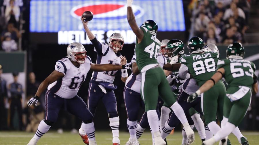 Patriotas da paliza a domicilio a los Jets