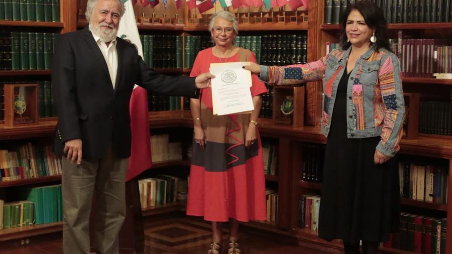 Toma protesta Fabiola Alanís como nueva titular de Conavim