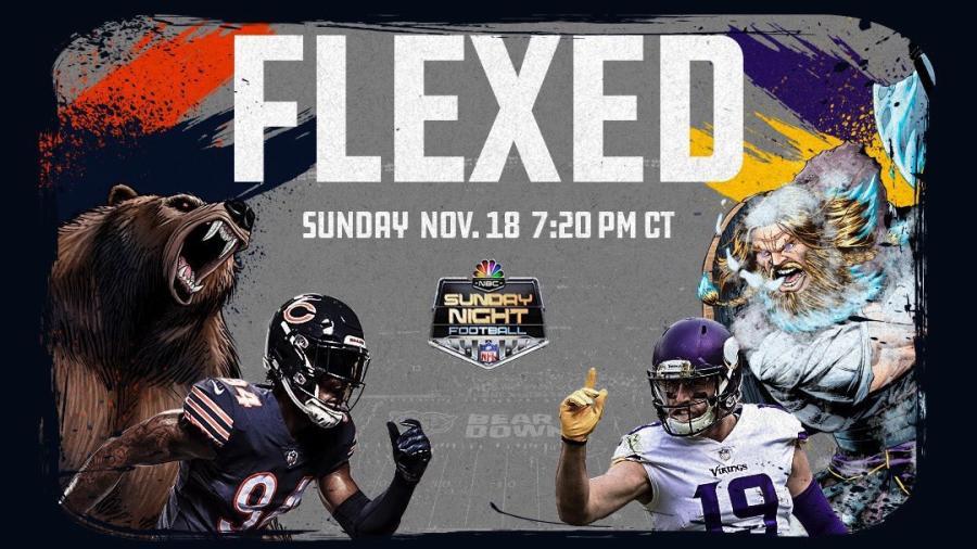 NFL cambia duelo Minnesota-Chicago para horario estelar