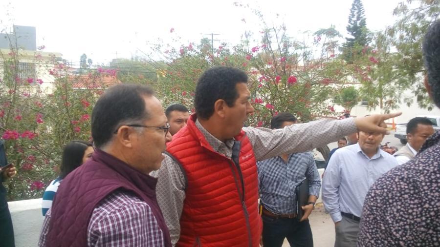 Avanza el proyecto para reubicar a los migrantes, el alcalde Mario López supervisó el área