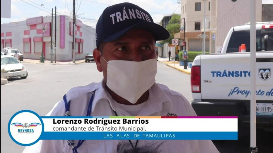 Apoya Reynosa en operativo restricción de movilidad