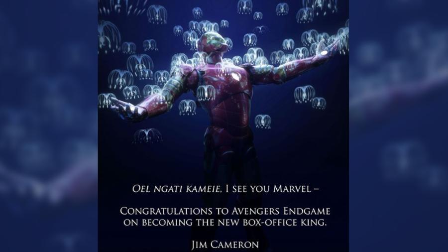"""James Cameron felicitó a """"Avengers: Endgame"""" por superar a """"Avatar"""""""