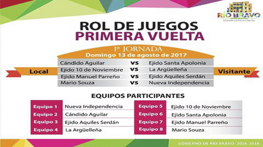 "Hoy inicia ""Torneo de futbol interejidal"""