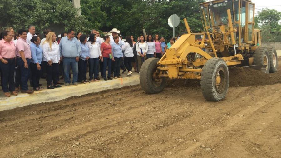 Supervisan la realización de obras en el municipio de Altamira.