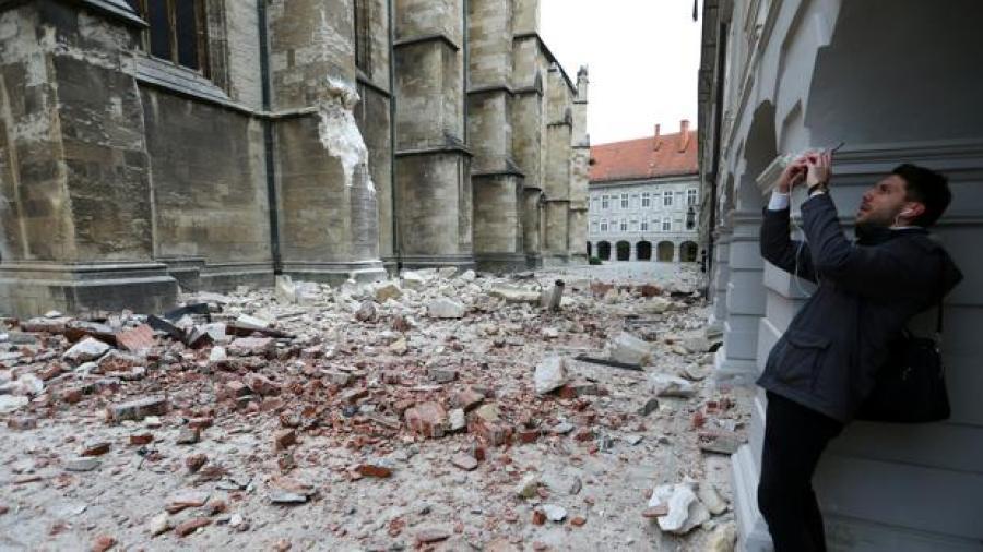 1 muerto tras sismo de 5.3 en Croacia