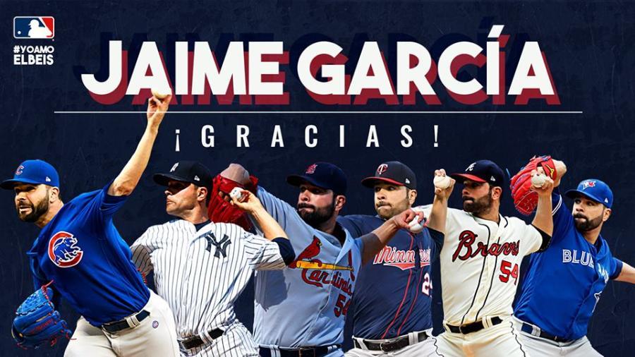 Jaime García anuncia su retiro del béisbol