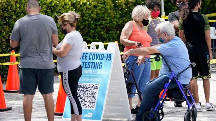 Florida registró récord diario de hospitalizaciones y casos de coronavirus