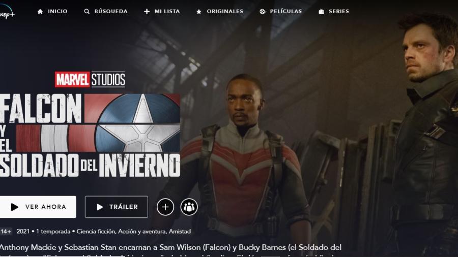 """Estrena Disney+ la nueva serie de Marvel """"Falcon y el Soldado del Invierno"""""""