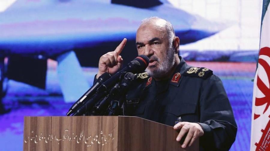 Nunca permitiremos ninguna guerra en el territorio de Irán: Hossein Salami