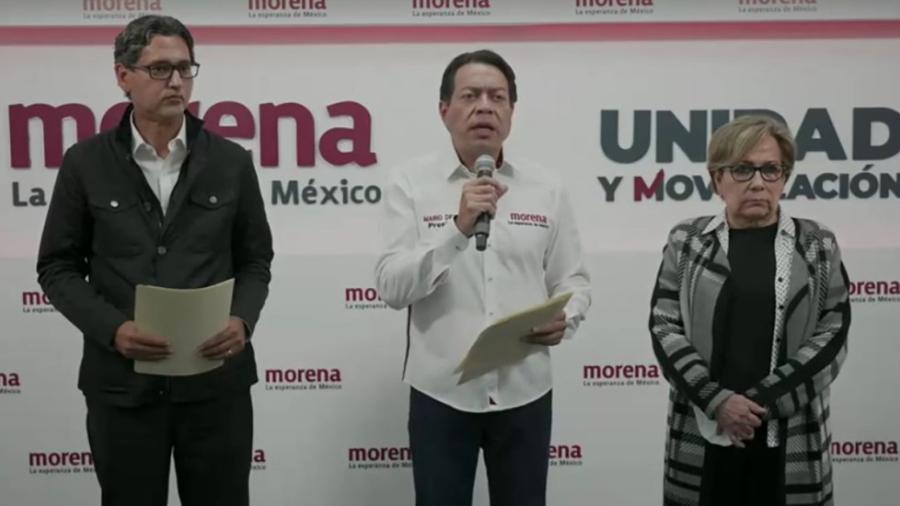 Denuncia Mario Delgado ante la FGR amenazas en Tamaulipas