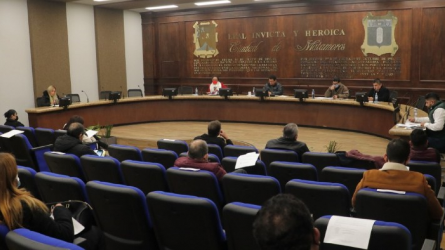Aprueba Cabildo programas sociales para beneficio de familias de zonas urbana y rural de Matamoros