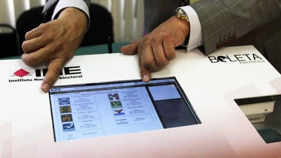 Coahuila y Jalisco tendrán urnas electrónicas para elecciones